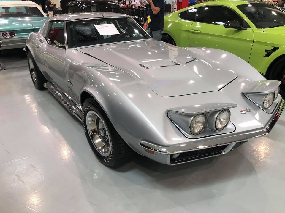 1969 chevrolet corvette 427 coupe
