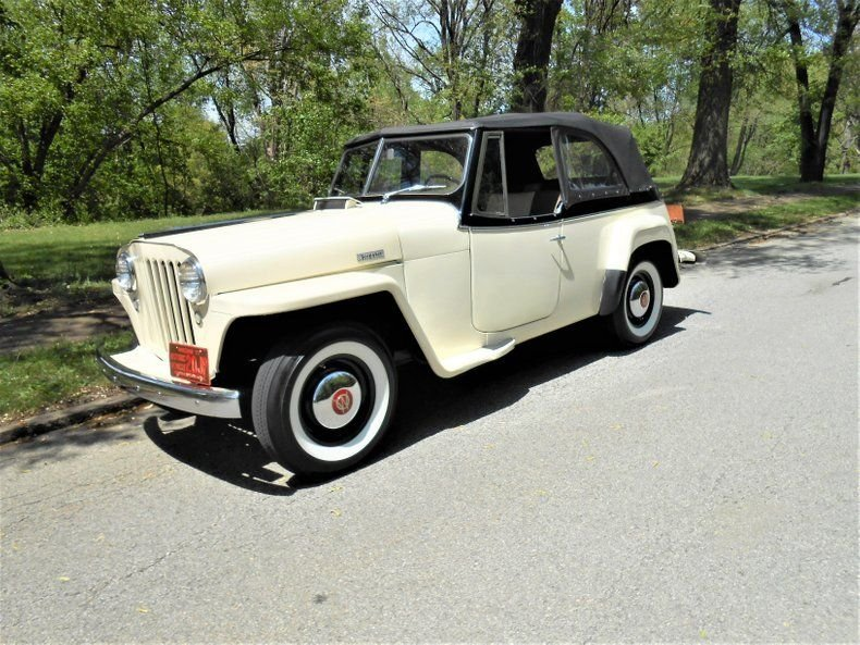 1949 willys overland jeepster convertible