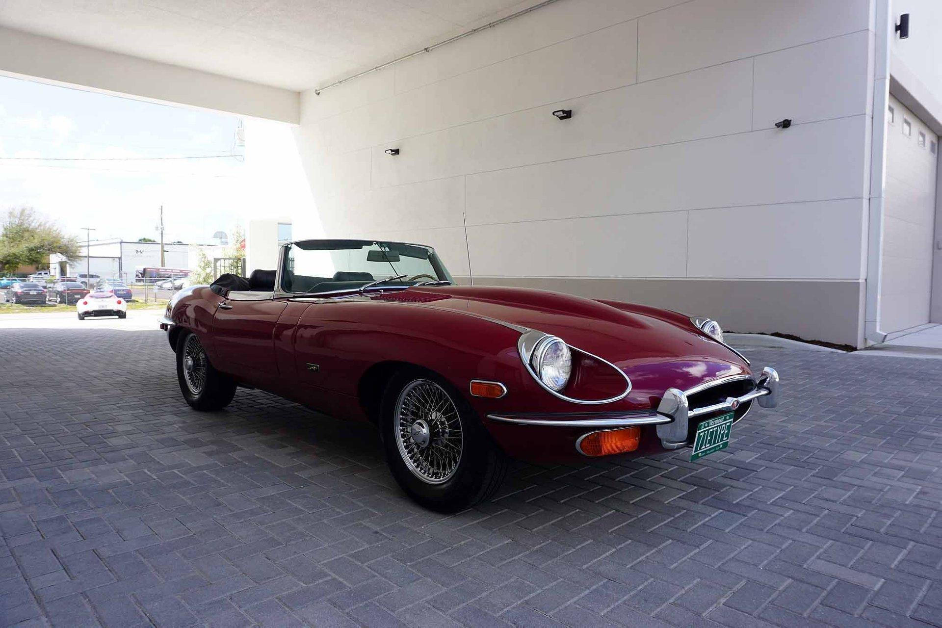 1971 jaguar xke roadster