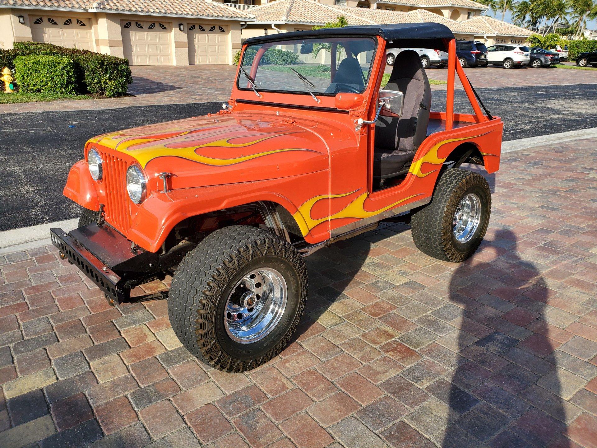1974 jeep cj 5 4 x 4 sport utility