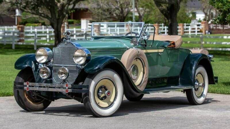 1928 packard super 8 roadster