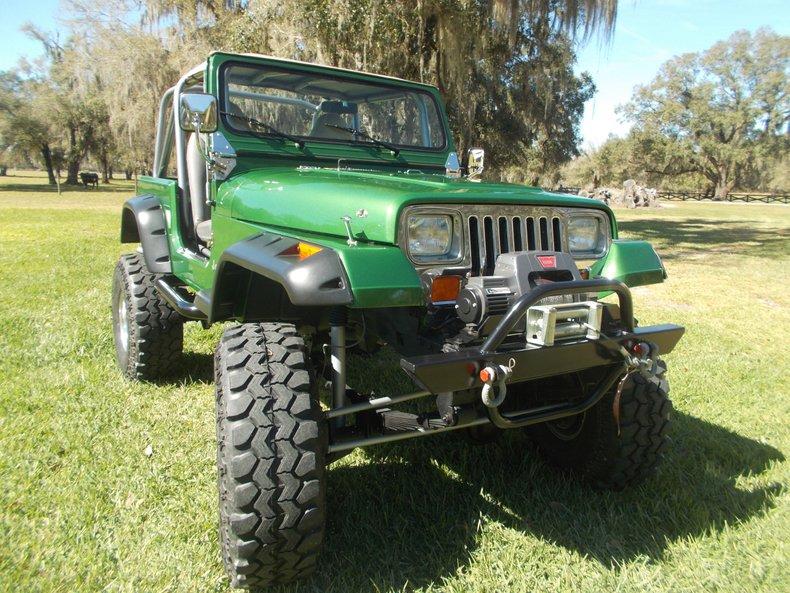 1989 Jeep Wrangler 4x4