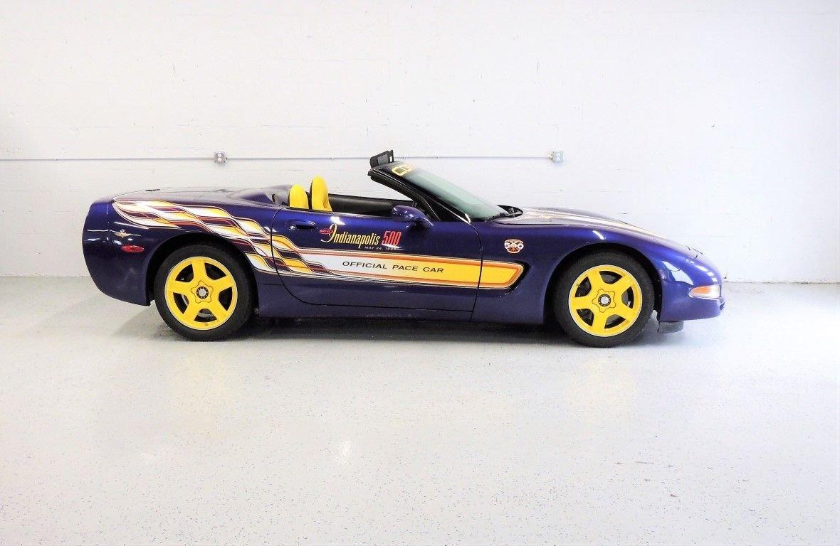 1998 chevrolet corvette indy pace car convertible