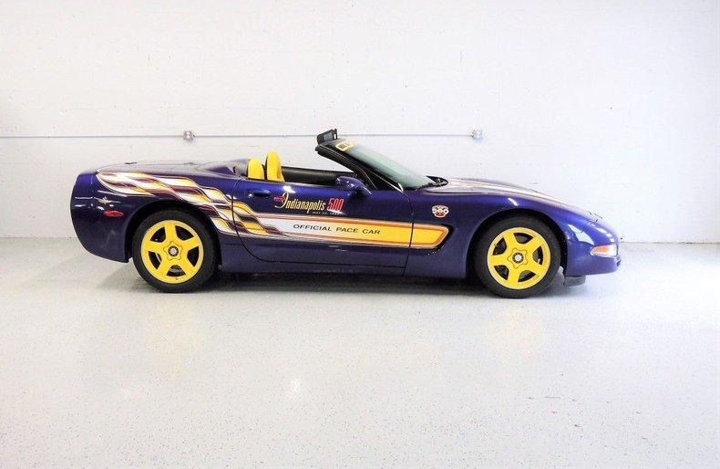 1998 Chevrolet Corvette Indy Pace Car