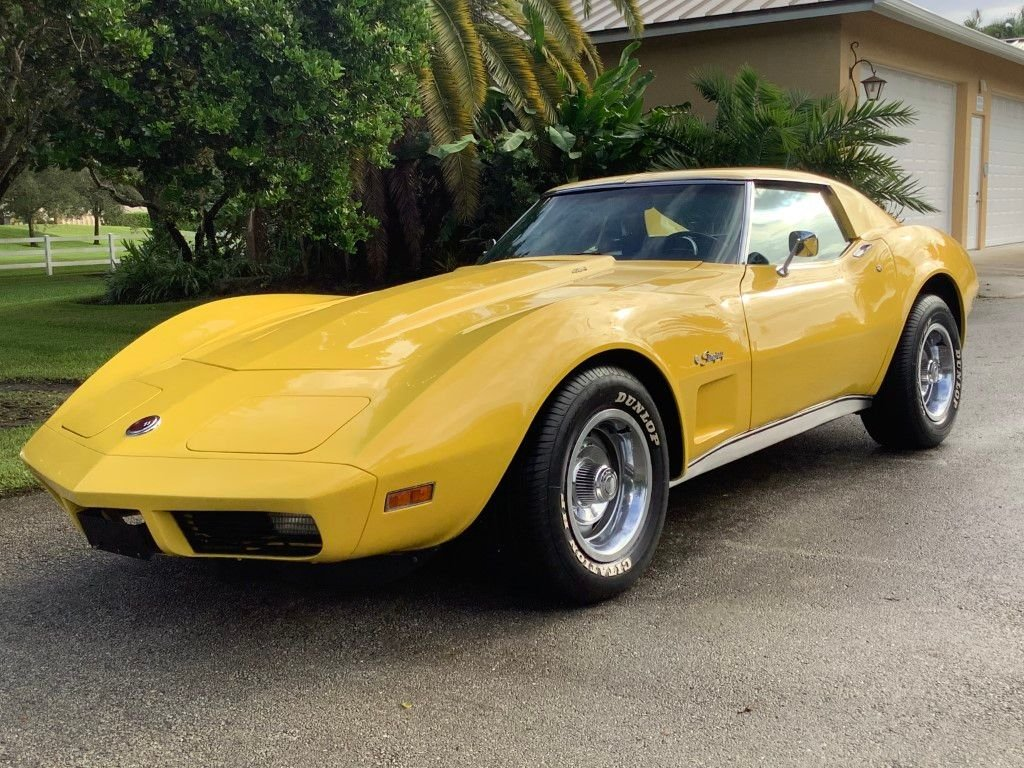 1974 chevrolet corvette 454 stingray coupe