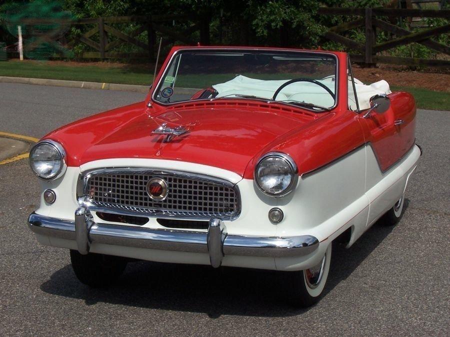 1961 metropolitan nash convertible