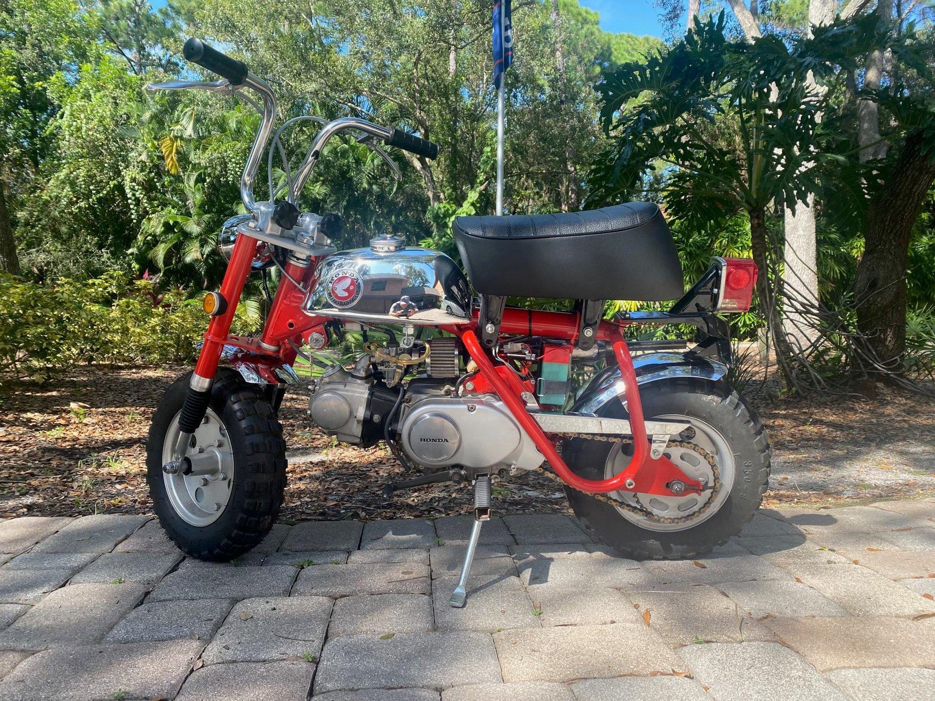 1970 honda z50 minibike