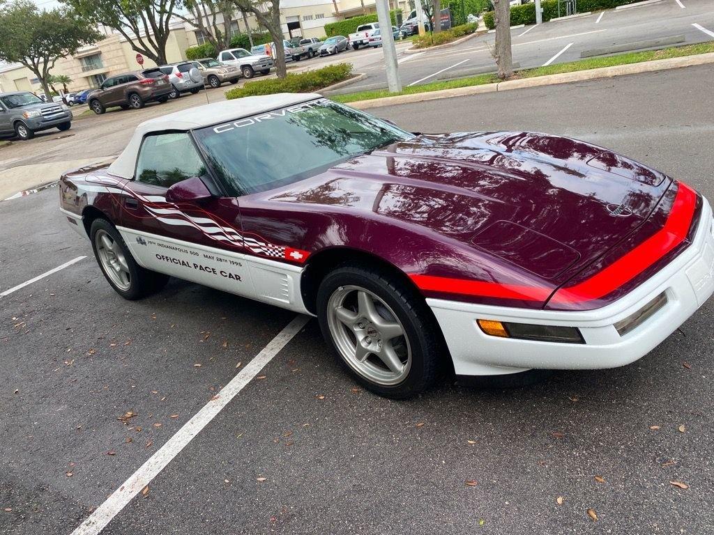 1995 chevrolet corvette indy pace car