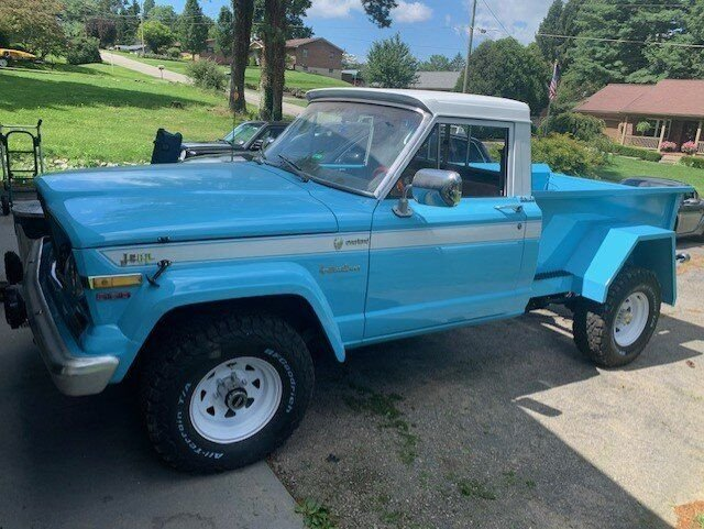 1979 jeep gladiator custom pickup