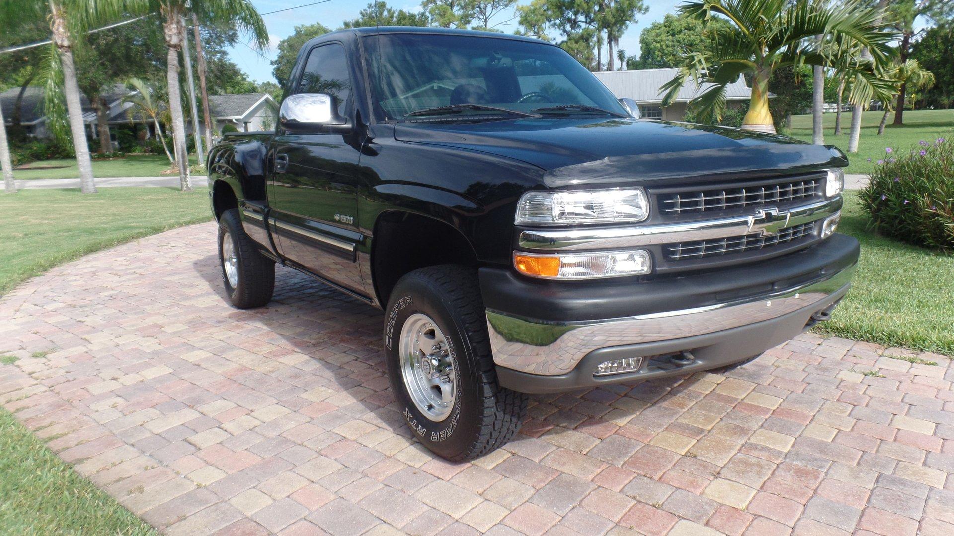 2002 chevrolet 1500 silverado 4x4 pickup