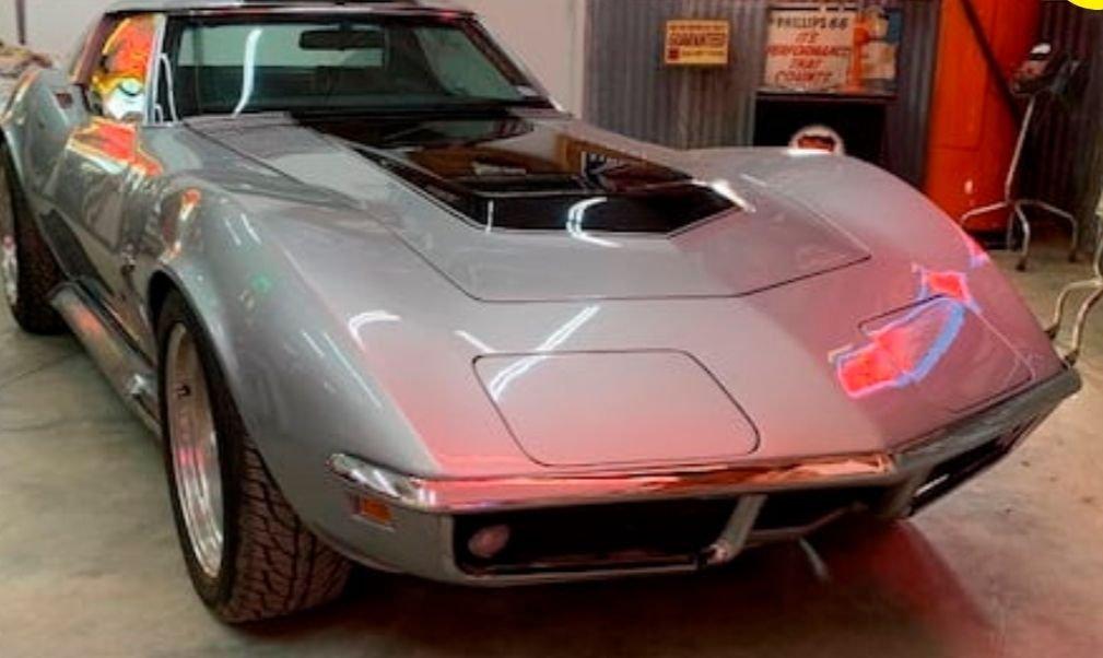 1969 chevrolet corvette 427 coupe