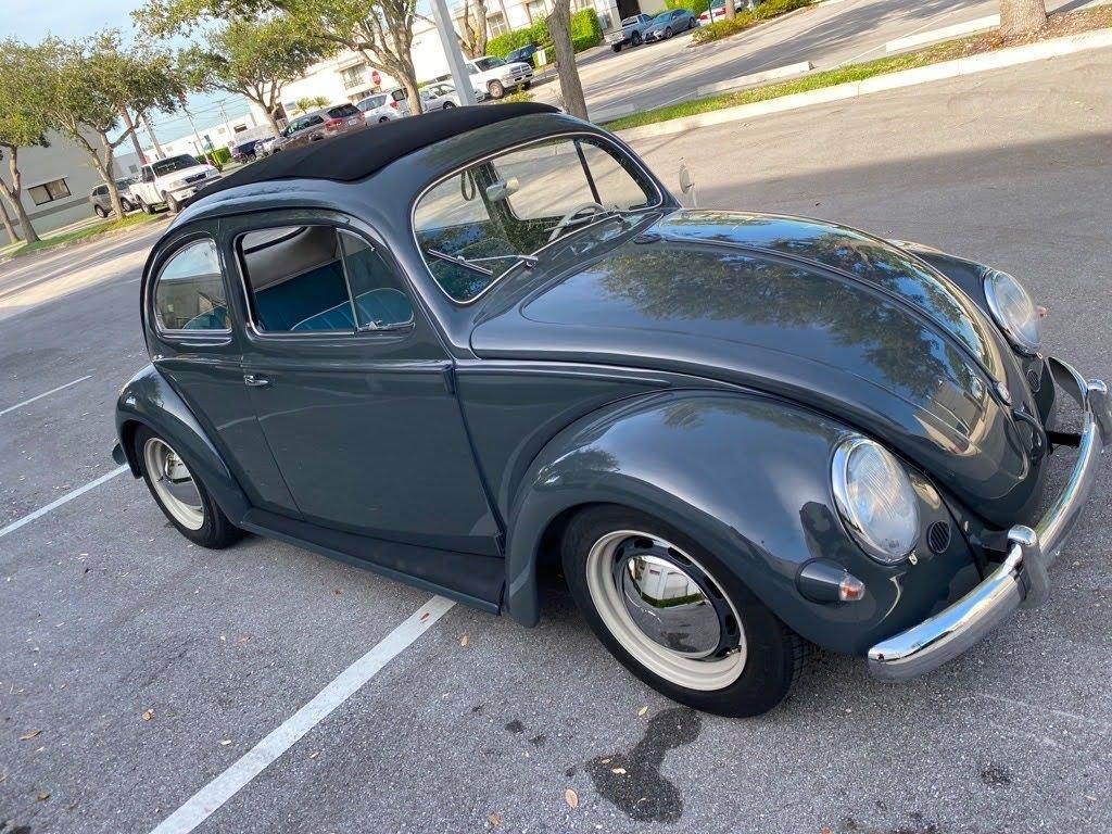 1957 volkswagen beetle california slide back roof
