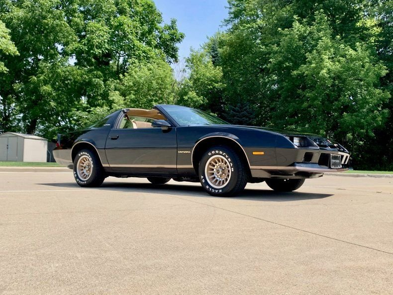 1984 chevrolet camaro berlinetta coupe