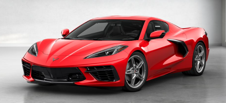 2020 chevrolet corvette c8 2lt coupe