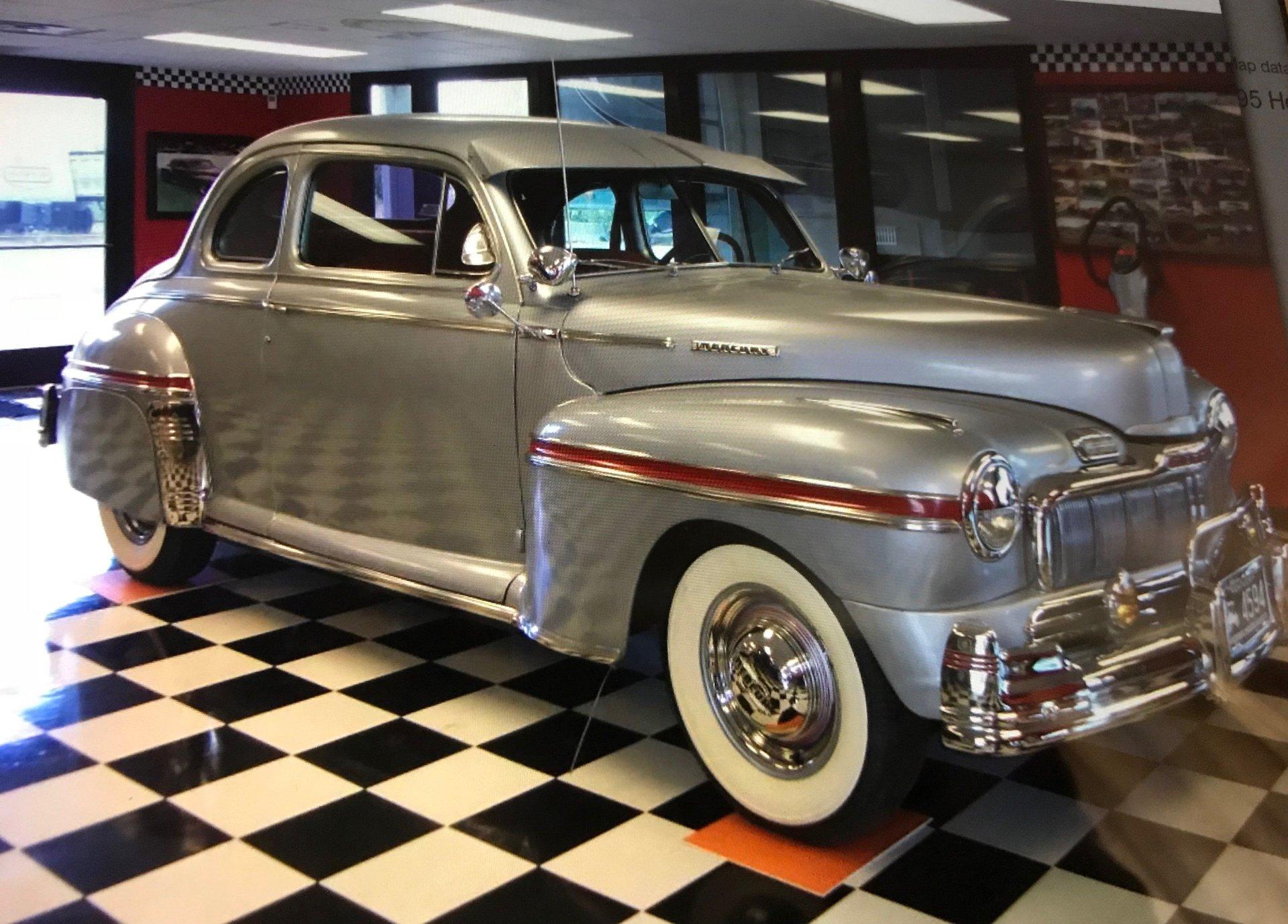1948 mercury deluxe coupe