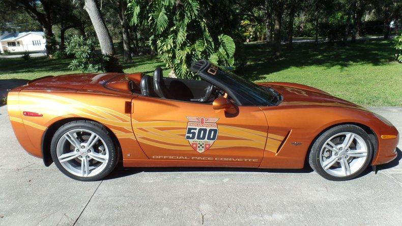 2007 Chevrolet Corvette Indy Pace Car