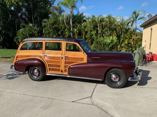 1947 pontiac streamliner woody wagon