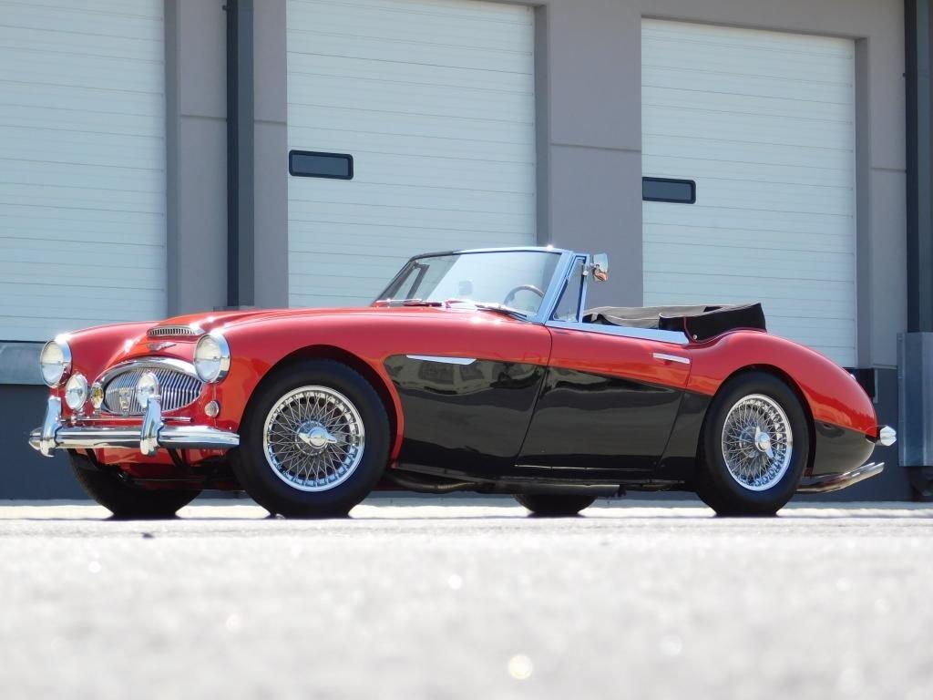 1963 austin healey 3000 mk ii bj7 roadster