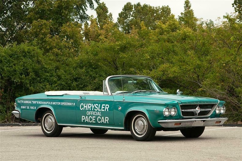 1963 Chrysler 300 Indy Pace Car