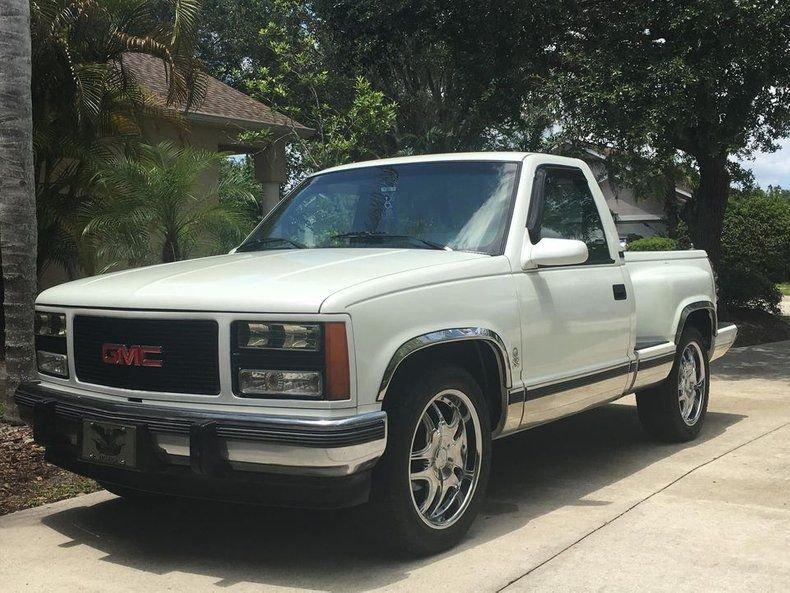1990 gmc 1500 short bed step side pickup