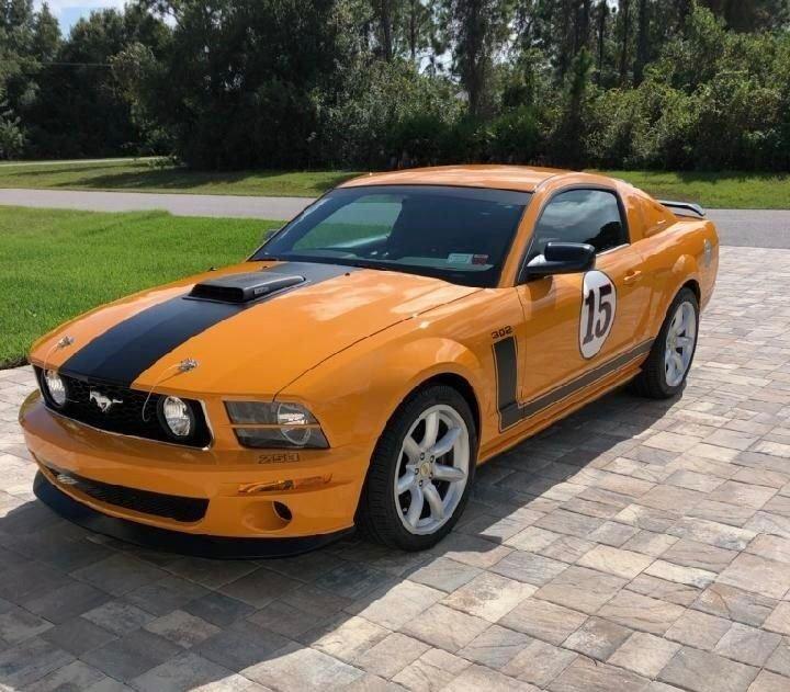2007 Ford Parnelli Jones Mustang