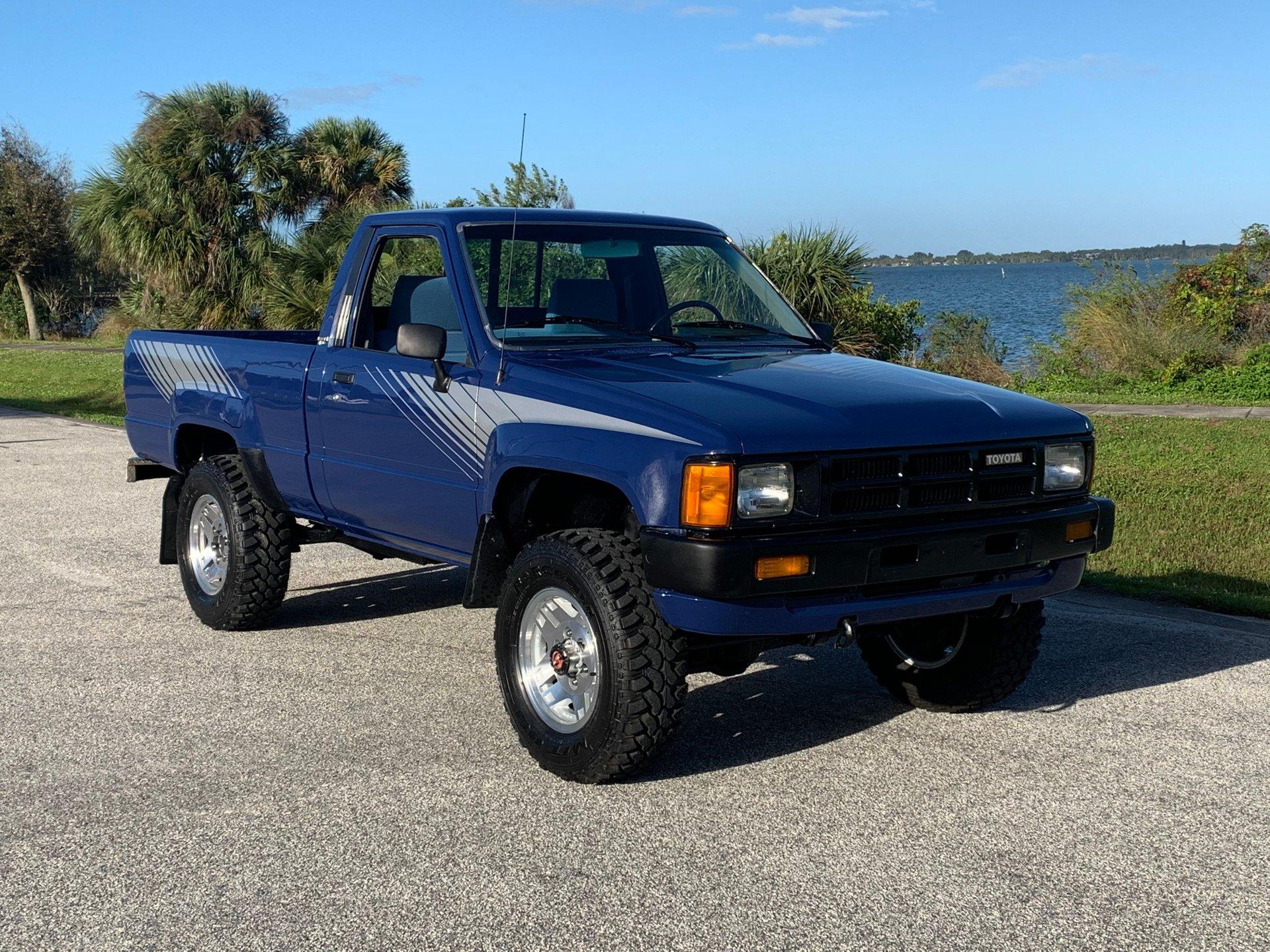 1985 toyota 4 x 4 pickup