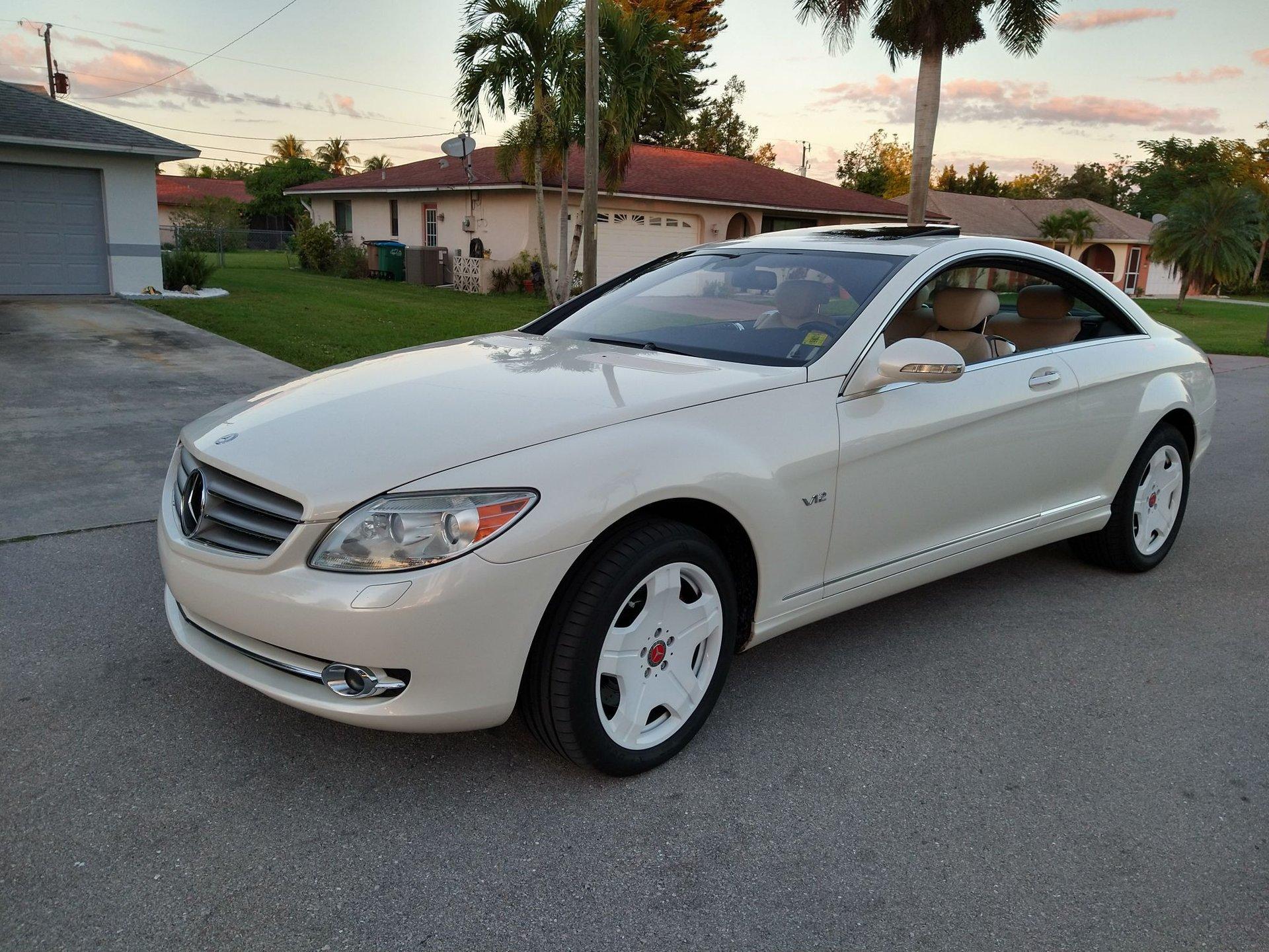 2007 mercedes benz cl600 designo edit coupe