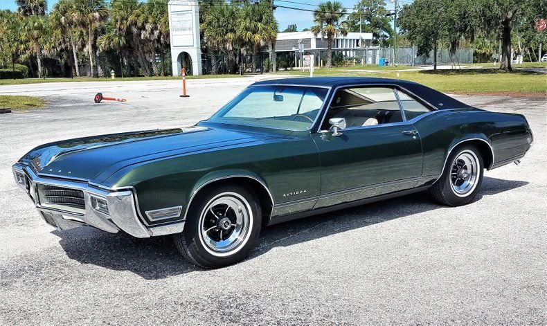 1968 buick riviera sport coupe
