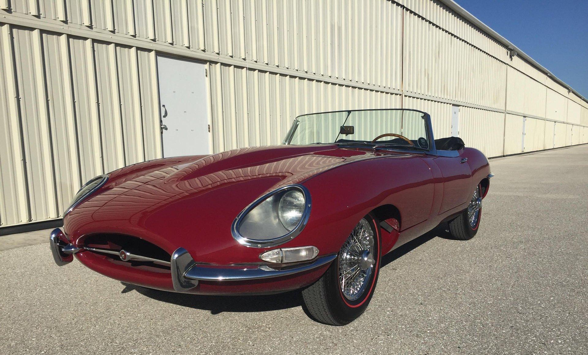 1962 jaguar e type series i roadster