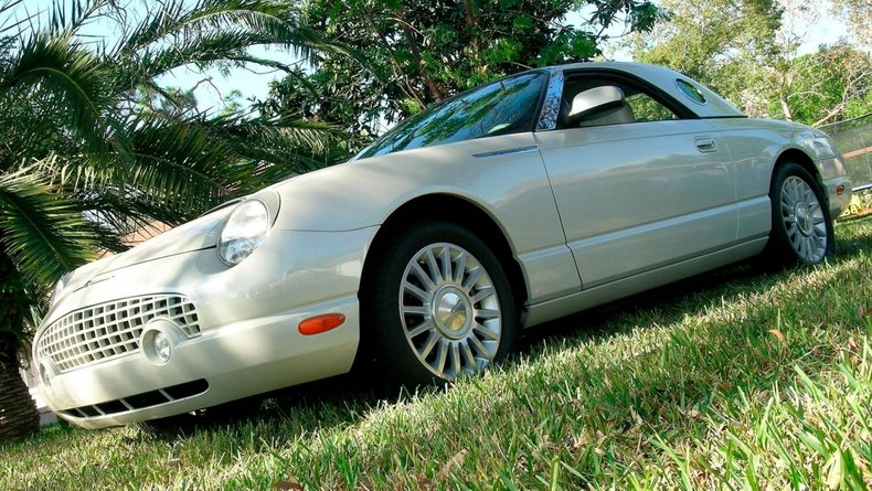 2005 Ford Thunderbird Cashmere Limited Edition
