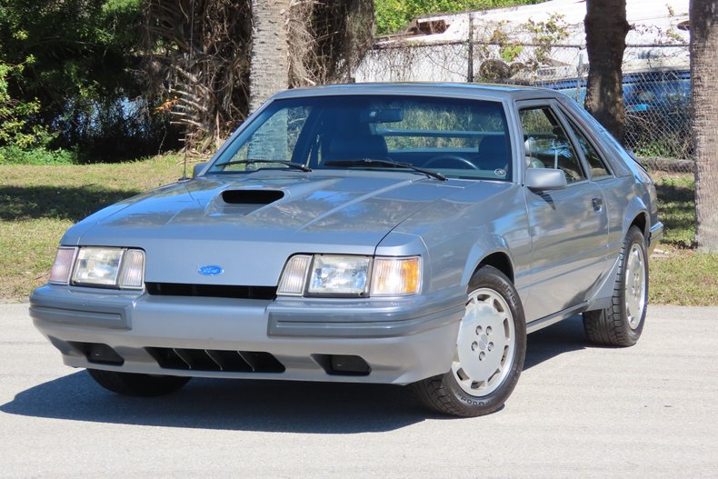 1985 Ford Mustang SVO Turbo