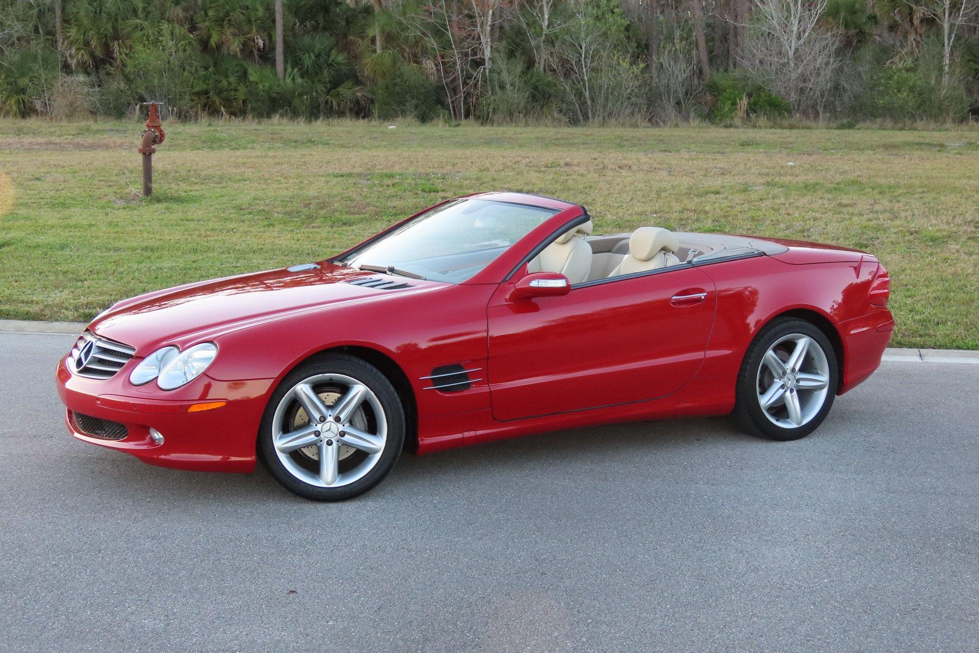 2005 mercedes benz sl500 hardtop roadster