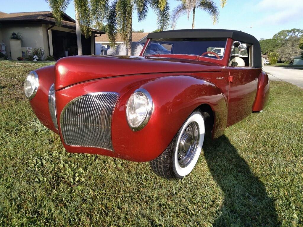 1941 lincoln continental restomod coupe