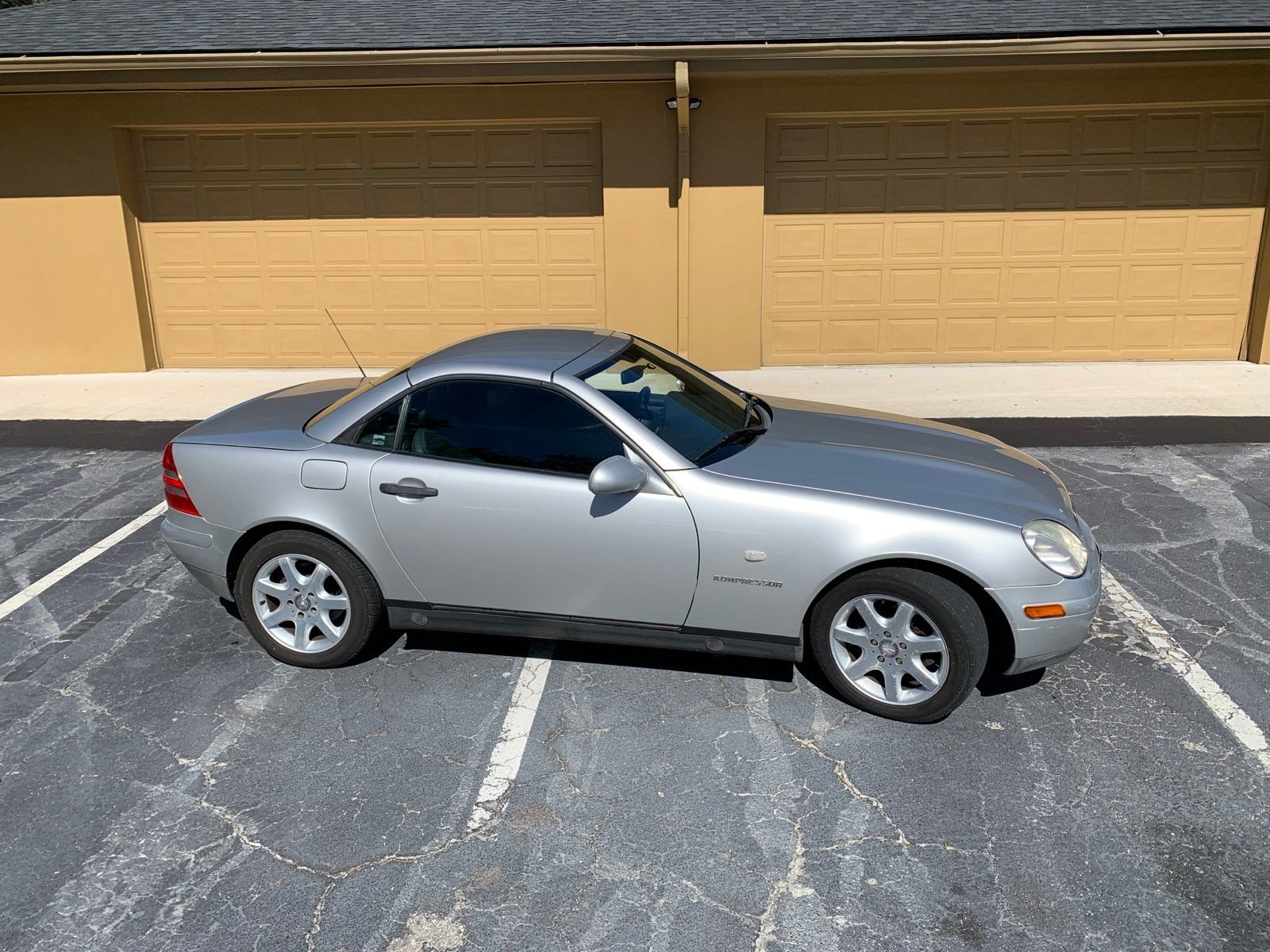 1998 mercedes benz slk230 retractable hardtop