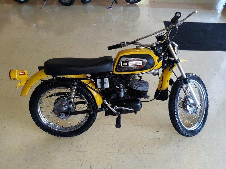 1971 harley davidson aermacchi 125 rapido motorcycle