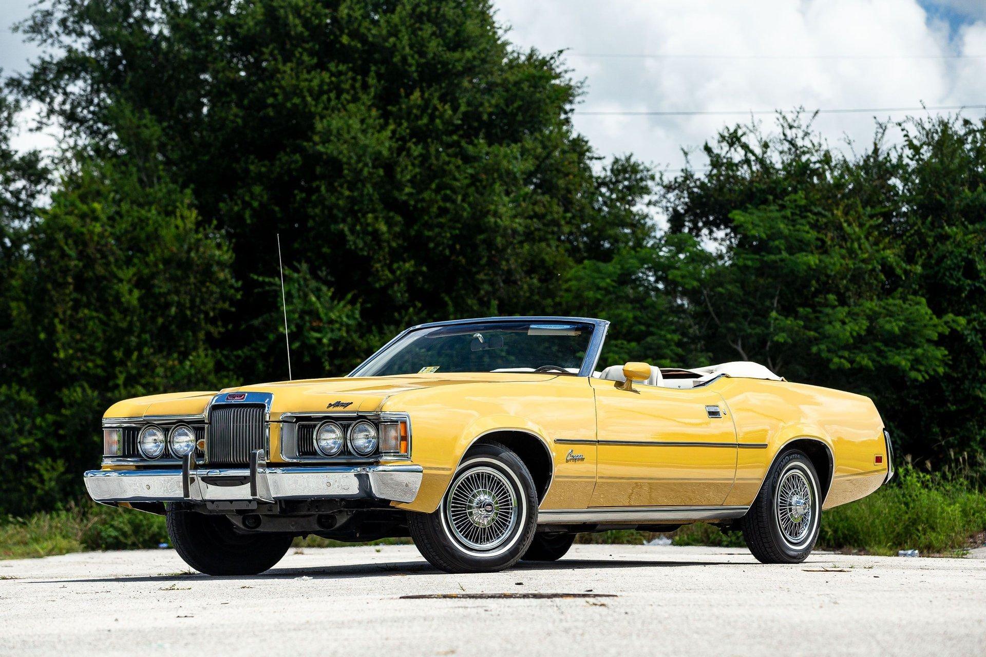 1973 mercury cougar xr 7 convertible