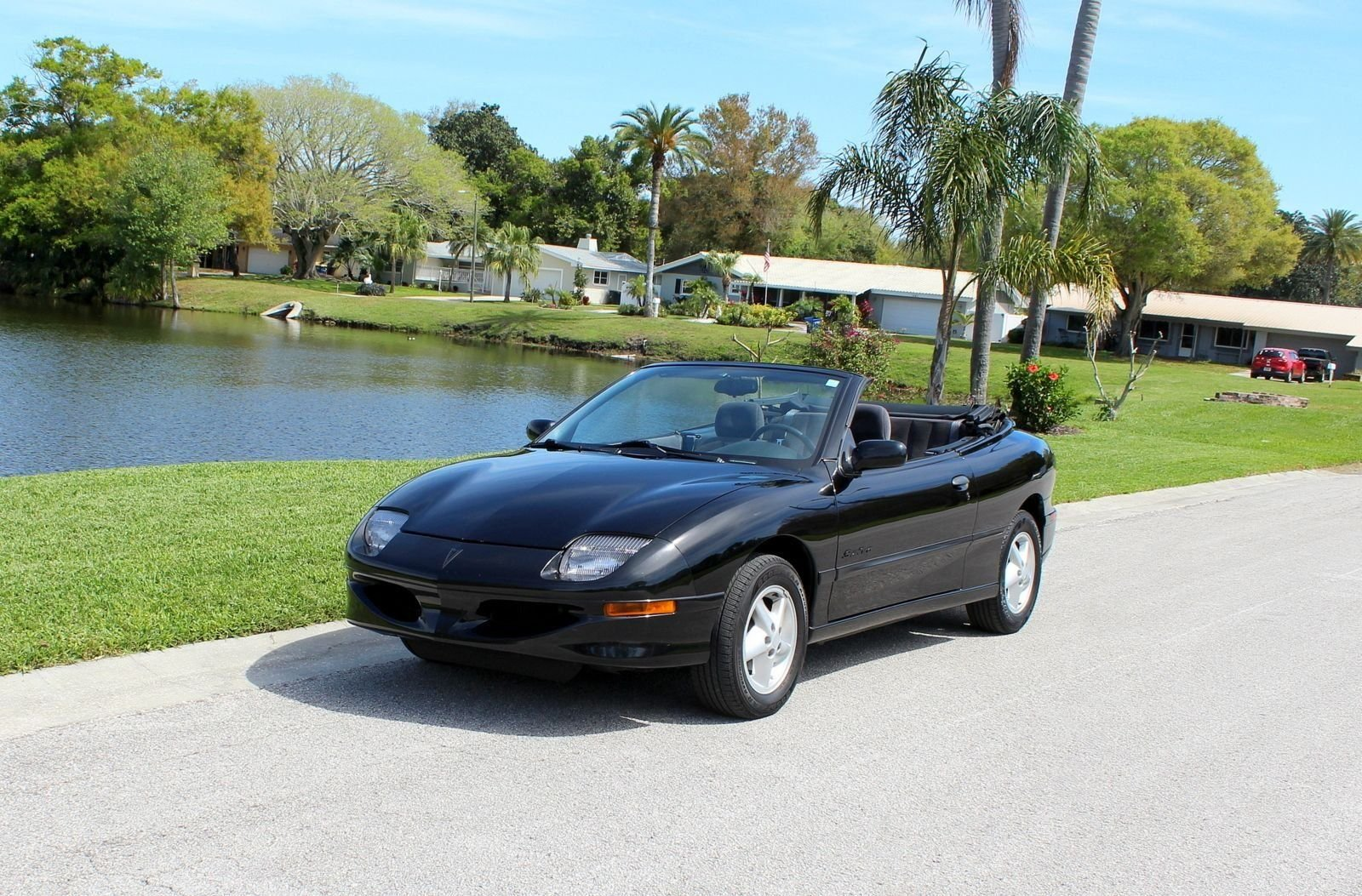 1997 pontiac sunfire convertible