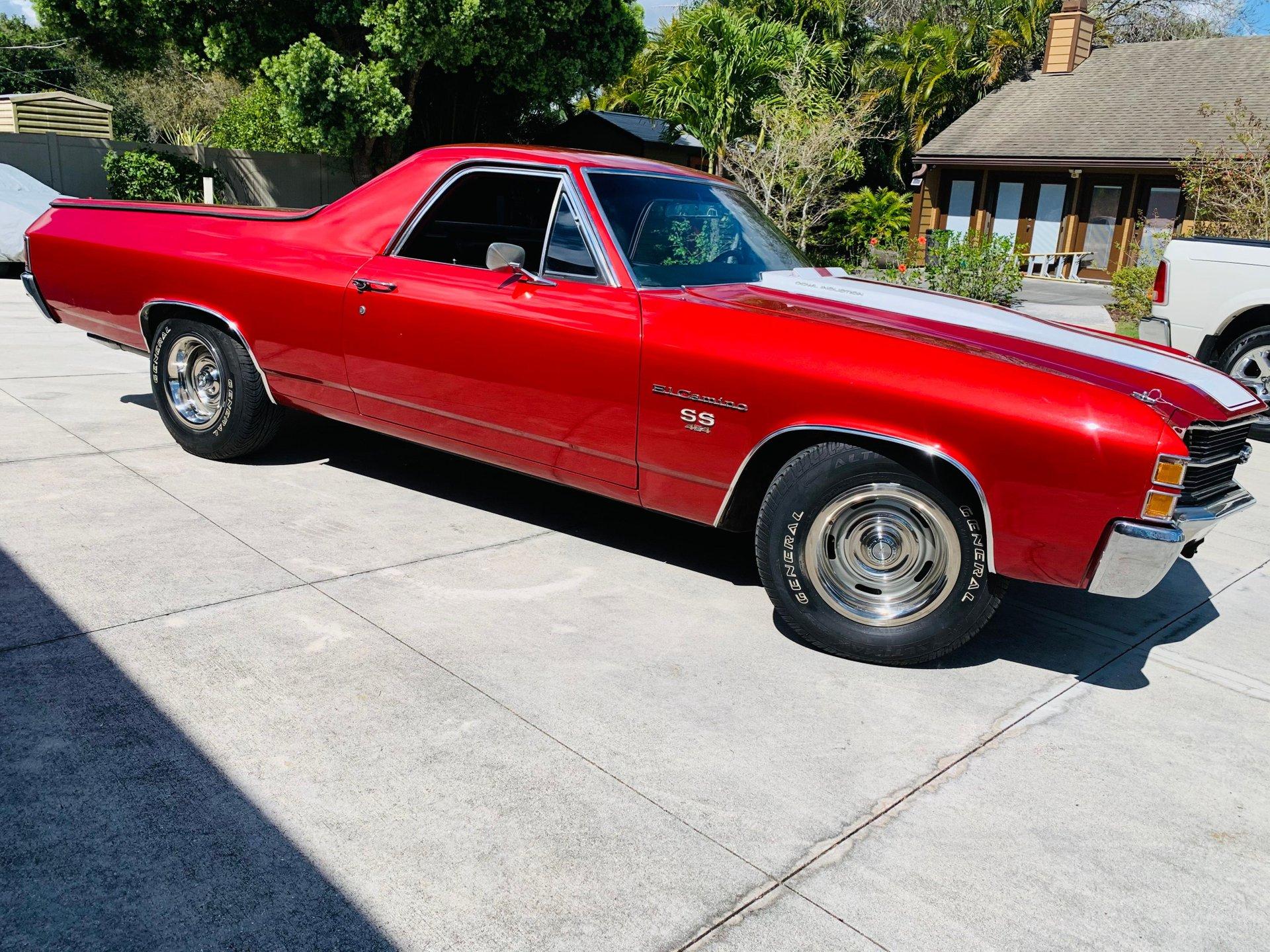1971 chevrolet el camino ss 454 pickup
