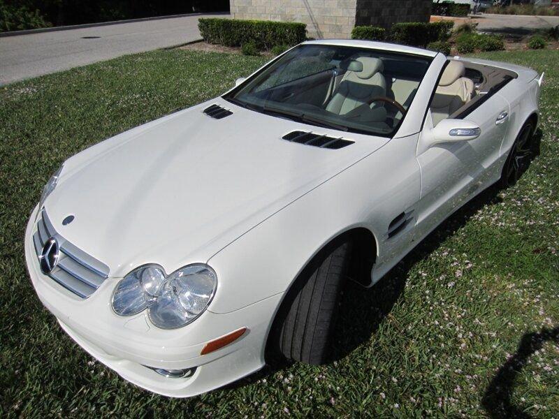 2007 mercedes benz sl550 retractable hardtop