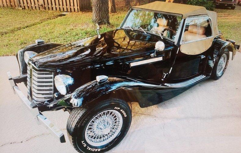 1952 Blakely Bernardi MG TD