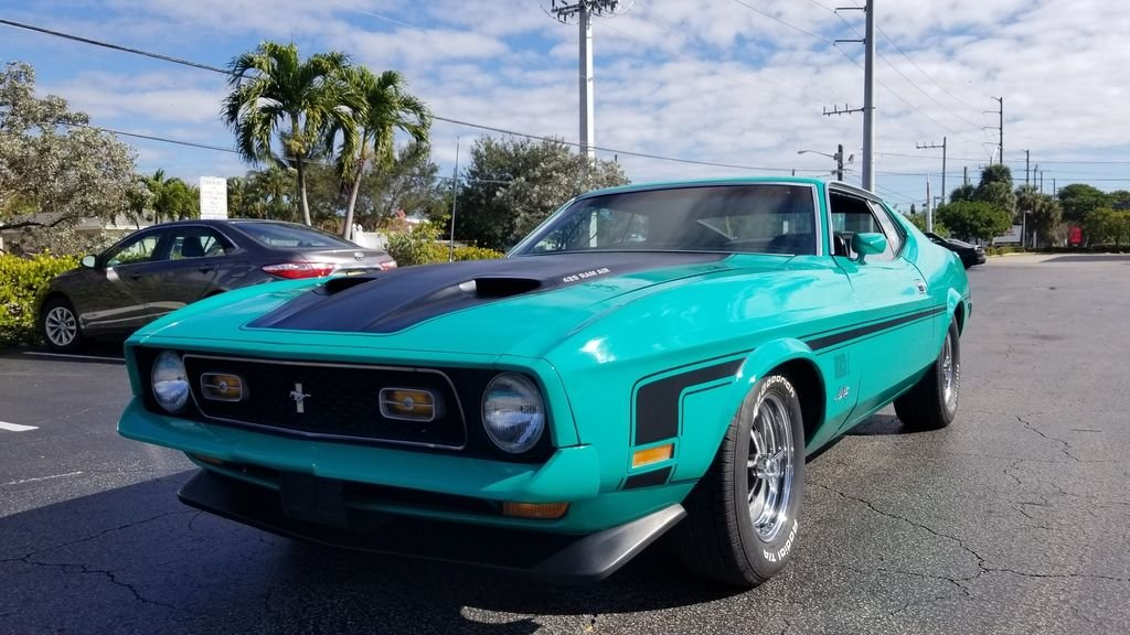 1971 ford mustang mach i 429 scj fastback