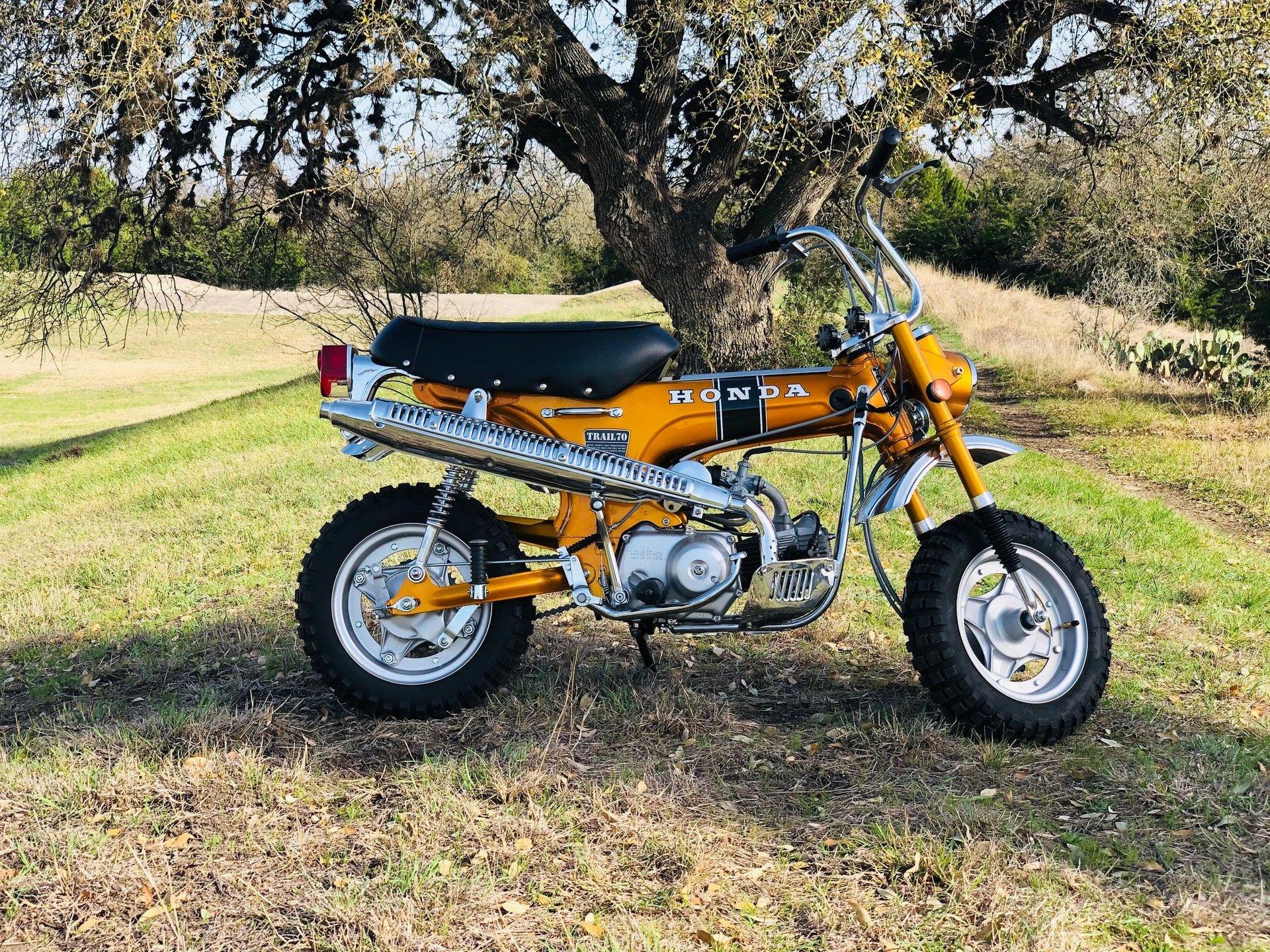 1970 honda ct 70 minibike