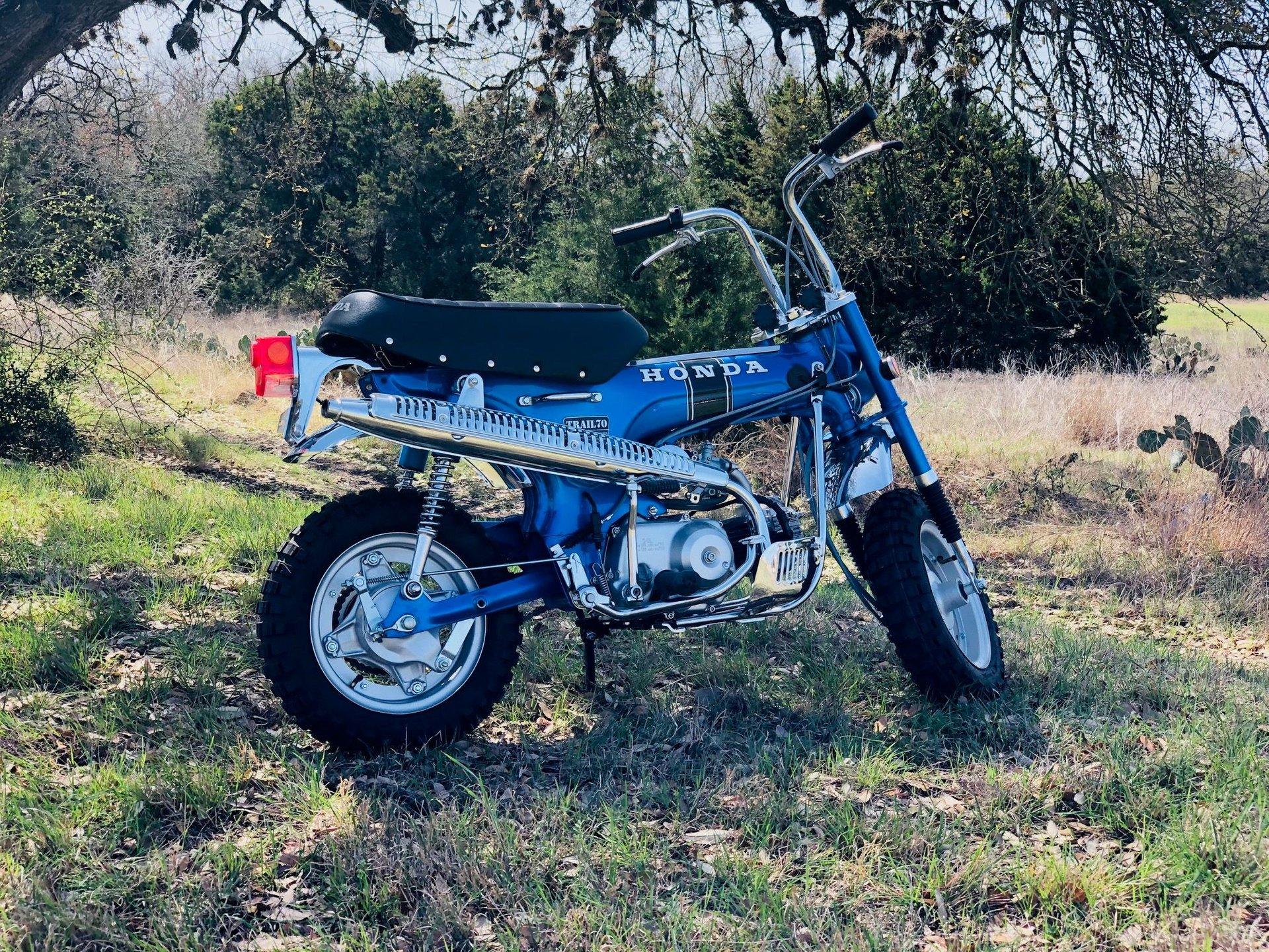 1970 honda ct 70h minibike