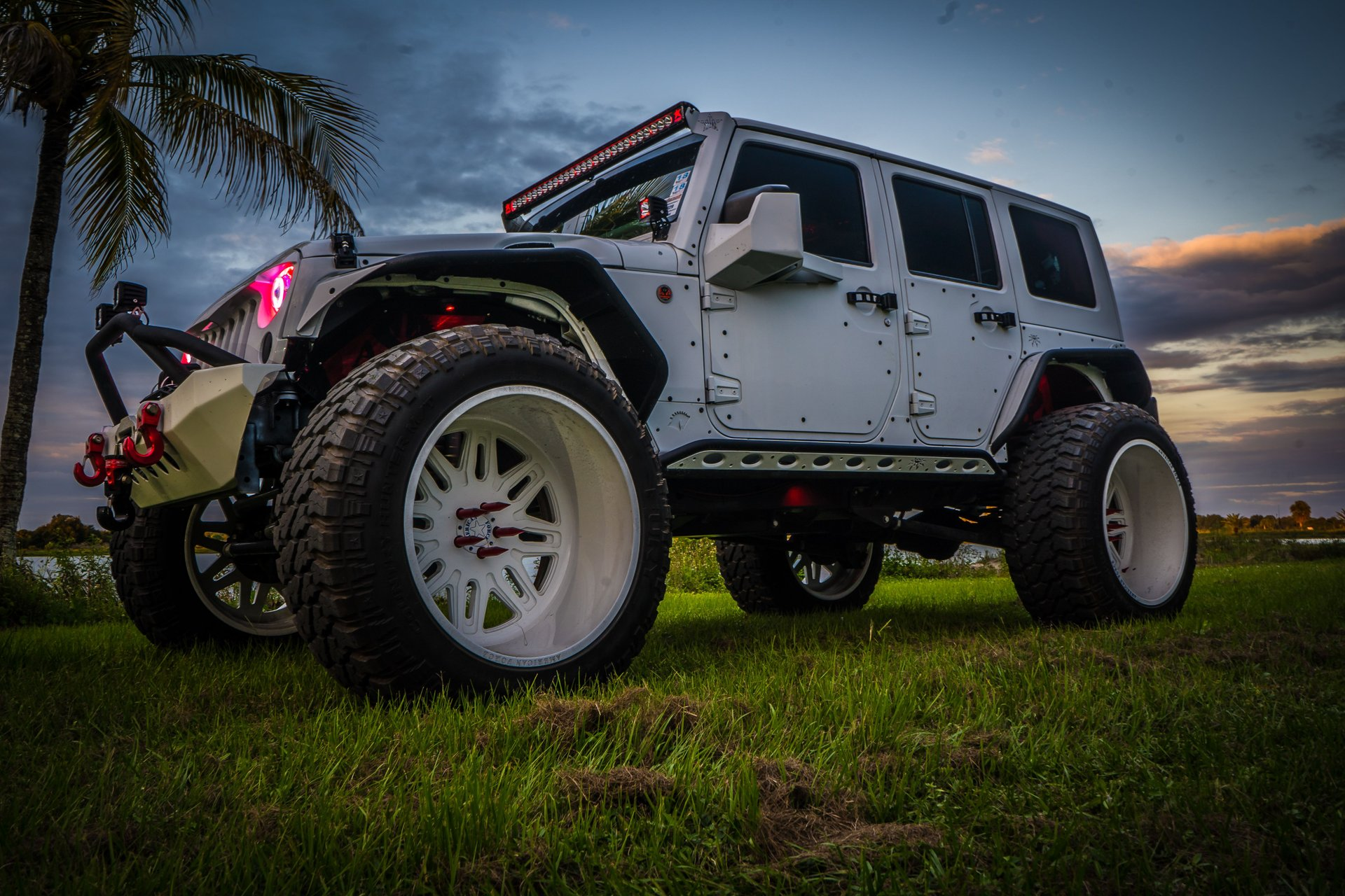 2014 jeep wrangler 4x4 sema custom