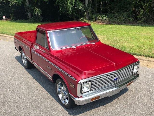 1972 chevrolet c10 custom pickup