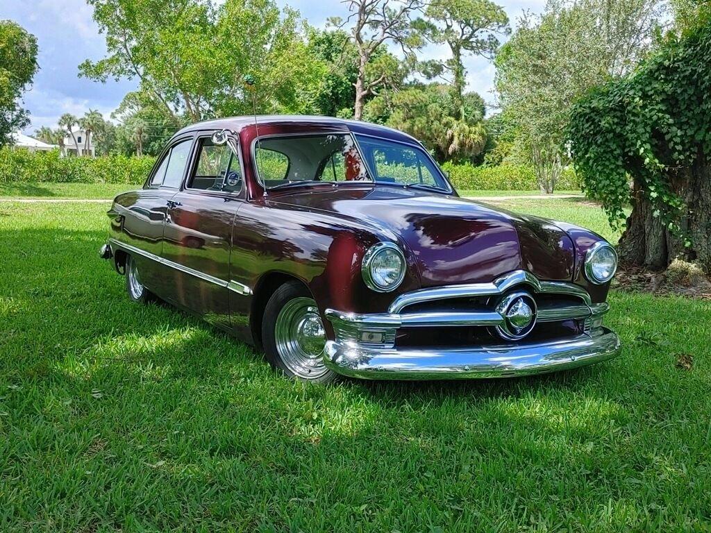 1950 ford crestline custom coupe
