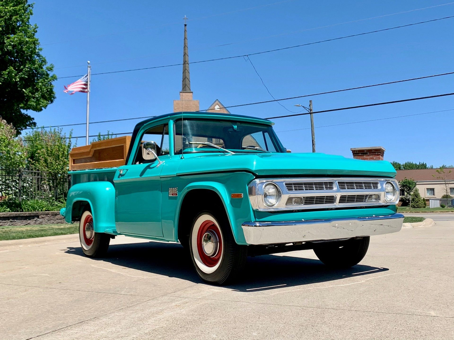 1970 dodge d100 swb stepside pickup