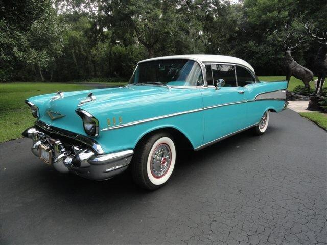 1957 chevrolet bel air restomod hardtop