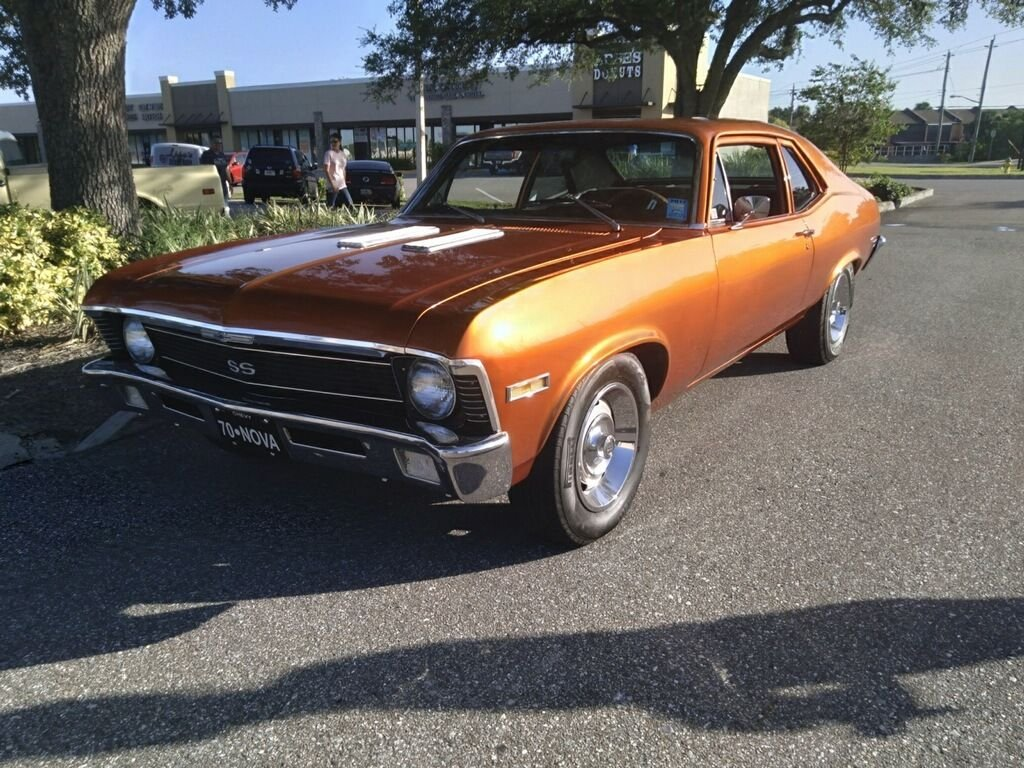 1970 chevrolet nova coupe
