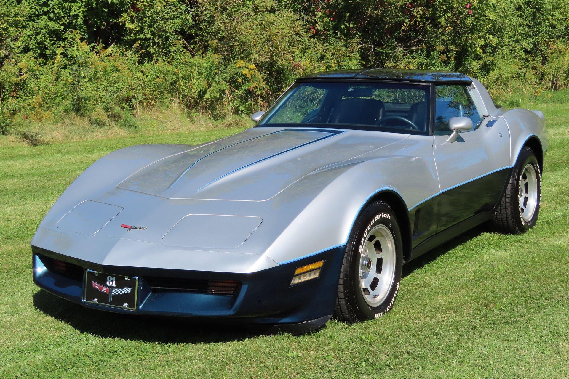 1981 chevrolet corvette t top coupe
